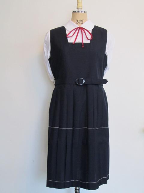 春夏角衿ジャンパースカート
