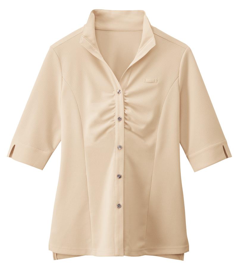 B2/ウイングカラーシャツ[女]