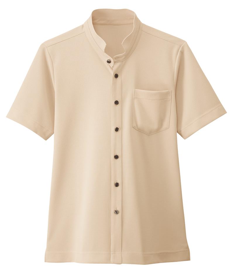 B2/スタンドカラーシャツ[男女兼用]