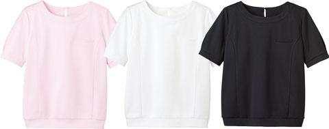 カウンタービズ/オーバーブラウスTパフ袖/半袖