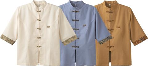 ボンユニ/マオカラーシャツ