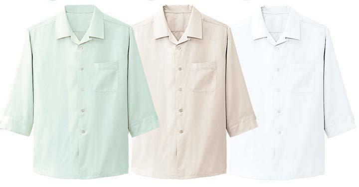 ボンユニ/開衿シャツ