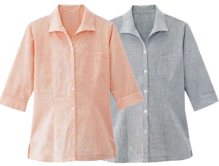 ボンユニ/イタリアンカラーシャツ