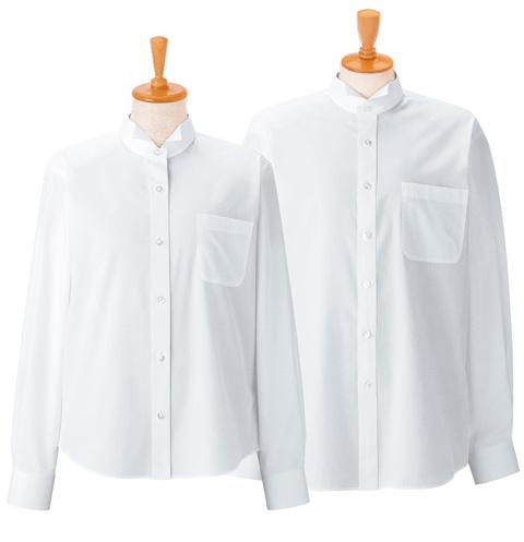 ボンユニ/ウイングカラーシャツ[女]