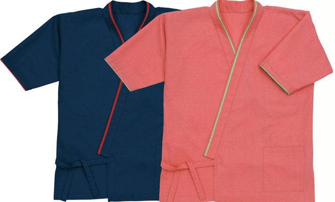 ボンユニ/作務衣シャツ