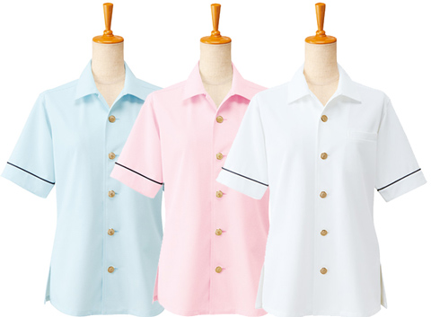 ボンユニ/シャツジャケット(半袖)[男女兼用]