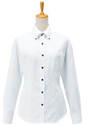 ボンユニ/レディースボタンダウンシャツ