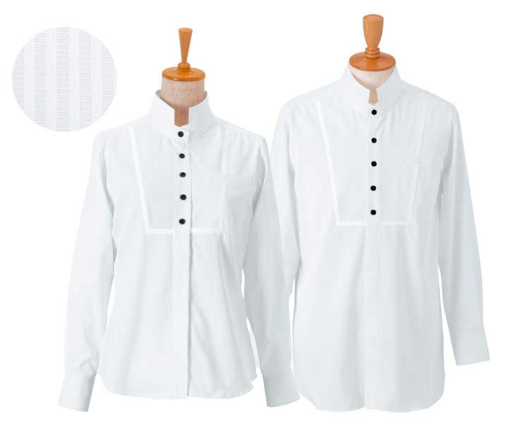 ボンユニ/メンズシャツ/白(81)