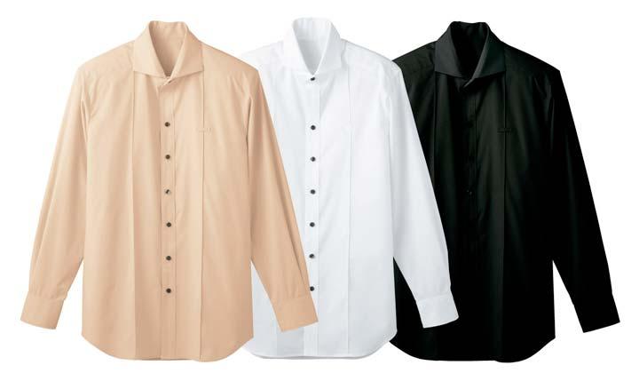 ボンユニ/メンズホリゾンタルカラーシャツ