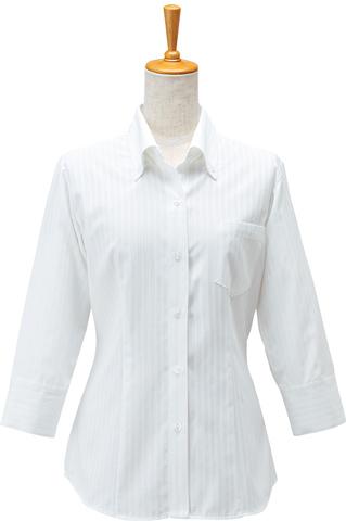 ボンユニ/レディースシャツ(七分袖)