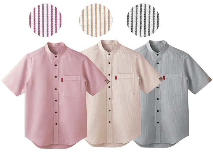 ボンユニ/スタンドカラーシャツ