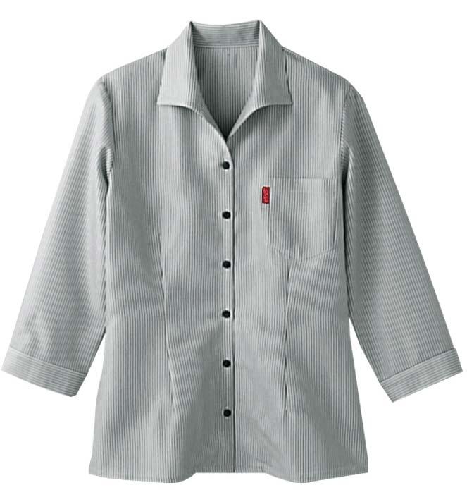 ボンユニ/レディースイタリアンカラーシャツ