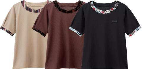 ボンユニ/レディース和風カットソー(半袖)