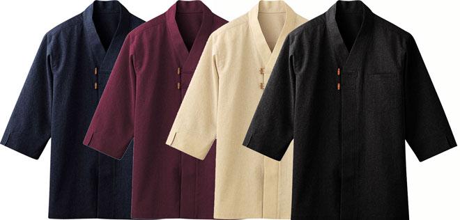 ボンユニ/和風シャツ