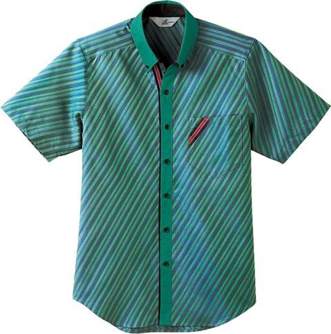 ボンユニ/シャツ[半袖、男女兼用]