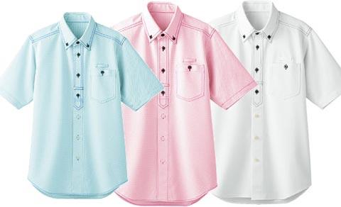 B2/ストレッチシャツ[半袖、男女兼用]