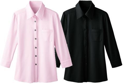 ボンユニ/ニットシャツ[女]