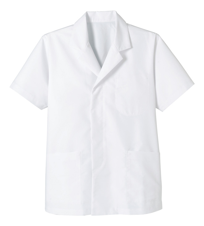 フェイスミックス/メンズ衿付き和コート(半袖)
