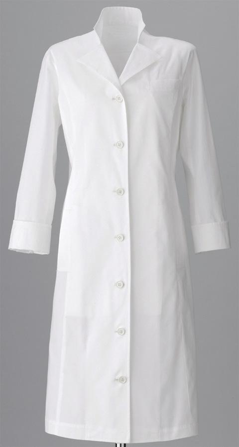 モードルイーズ(返品不可)/スタンドカラー白衣