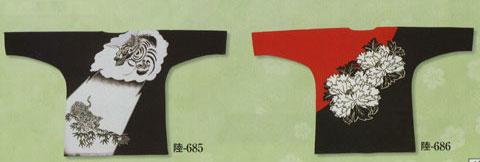 鯉口シャツ/陸