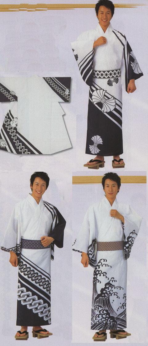 イベント用仕立上り絵羽浴衣[男]/敏